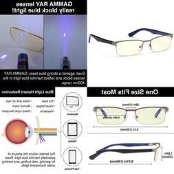 1 GAMMA RAY Optics Harmful Blue Light Eye Strain Protection