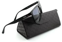 Gucci 1075/S Shiny Black Frame 0GVB, Gray Gradient Lens