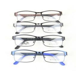 1PC Men's Metal Full Spectacles Frame Glasses Optical Eyegla