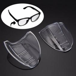 2 Pairs Clear Side Shields Universal Fit Flexible For Eye Gl