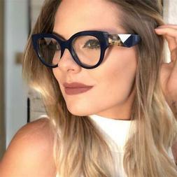 2018 eyewear glasses vintage cat eye designer brand eyeglass