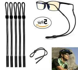 5 PCS Neck Strap Sport Sunglass Eyeglass Read Glasses Cord L