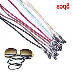5pcs Women Girls Men Glasses Chain  Eyeglasses Holder Strap