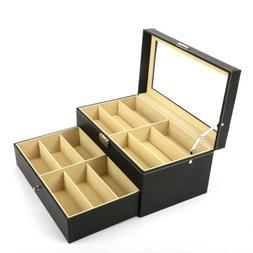 8/12 Slots Eye Glasses Case Sunglasses Display Storage Box H