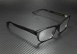 Gucci Men's Eyeglasses GG0006O GG/0006 001 Black/Transparent