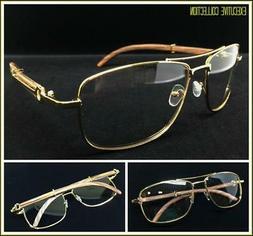Men's Classy Elegant Retro Style Clear Lens EYE GLASSES Larg