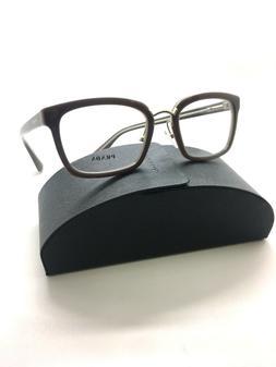 PRADA Opal Dark Brown RX Eyeglasses VPR 09s Ued-1o1 demo len