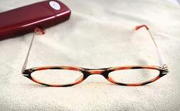 Reading Eye Glasses Cheaters Magnivision Blue Tortoise Shell
