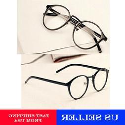 Unisex glasses frame Transparent Nerd Eyeglasses Clear Lens