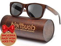 Wood Sunglasses Polarized for Men and Women - Bamboo Wooden