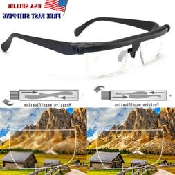 Adjustable Glasses Variable Focus Vision Distance Reading Dr