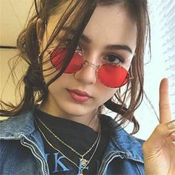 Adults Vintage Round Sunglasses Frame Alloy Classic Eye Wear