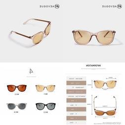 AEVOGUE Polarized Sunglasses Women  Popupar Transparent Fram