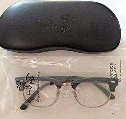 Authentic Ray-Ban RX 5154 2000 Clubmaster Black Eyeglass - R