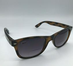 Gamma Ray Optics Bifocal Sunglasses Brown Tortoise Shell Out