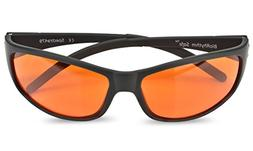 Blue Blocking Amber Glasses for Sleep - BioRhythm Safe - Nig