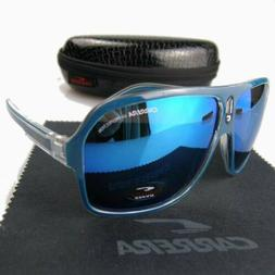 Blue Fashion Carrera Men's Sunglasses Ruthenium Pilot Gradie