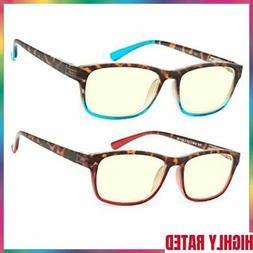 BLUE LIGHT BLOCKING GLASSES Eyewear Anti UV Gaming Eyeglasse