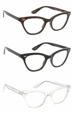Womens Blue Light Glasses Cat Eye Gaming Computer 400UV Smal