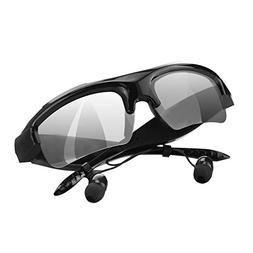 Bluetooth Headset Sunglasses Polarized Headphones with Stere
