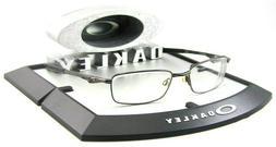 Oakley Bottle Rocket 4.0 RX Eye Glasses Pewter Metal Frames