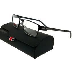 Carrera CA7582-003-54 Rectangle Men's Black Frame Clear Le