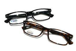Casual Fashion Horned Rim Rectangular Frame Clear Eye Glasse