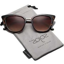 SOJOS Cat Eye Brand Designer Sunglasses Fashion UV400 Protec