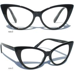 CAT EYE Clear Lens Reading Glasses Retro Fashion Eyeglasses