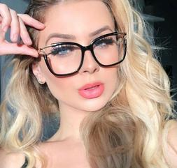 Cat Eye Glasses Frames For Women Blue Light Protection Compu