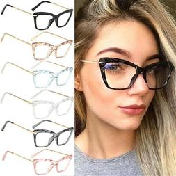 Cat Eye Lady Eyeglasses Optical Glasses Spectacle Frame Clea