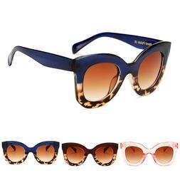 Cat Eye Vintage Sunglasses Women Leopard Sun Glasses Ladies