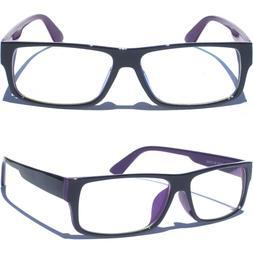 Clear Lens Eye Glasses Hipster Nerd Geek Smart Trendy Choose