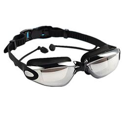 Shiratori Corrective Nearsighted Swimming Goggles with Ear P