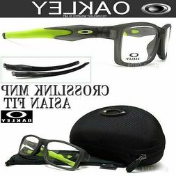 8c3d0e28d1e09 Oakley Crosslink MNP A OX8141-0256 Satin Grey Smoke   Demo L