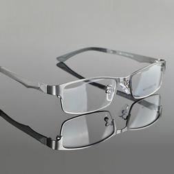 Designer Metal Full Rim Eyeglasses Frame Men's Glasses Spect