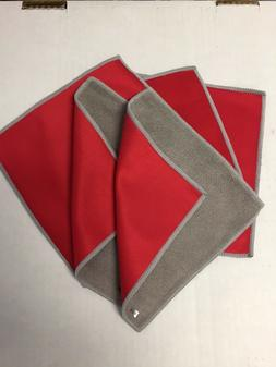 Eye Glass Microfiber Cleaning Cloth -6 in x 6 in  --5 pack