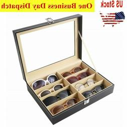 Eye Glasses Case Eyewear Sunglasses Display Storage Box Hold