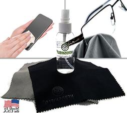 Eyeglass and Cell Phone Screen Cleaner Kit 1.7oz, Includes 2
