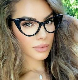 """Eyeglasses Cat Eye Demi """"NIKITA"""" Women Glasses Clear Lenses"""