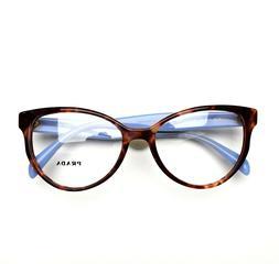 PRADA Eyeglasses Pink Havana 01UV UEO 54-17-140 Brand New Au