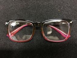 TIJN Eyewear Frames Black Light Blocking Glasses Square Nerd