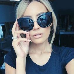 Fashion Cat Eye Sunglasses Women's Summer Eyeglasses New Ove