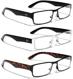 Fashion Sport Designer Square Clear Lens Non Prescription Wo