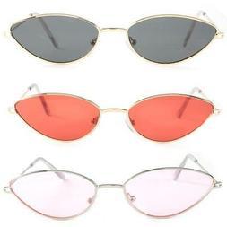 Fashion Women Cat Eye Sunglasses Small Vintage Glasses Eyewe