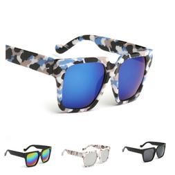 Fashion Womens Men's Mirrored Sunglasses Shopping Outdoor  E