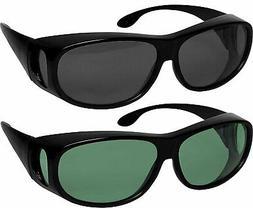 Fit Over Sunglasses Polarized Lens Wear Over Prescription Ey