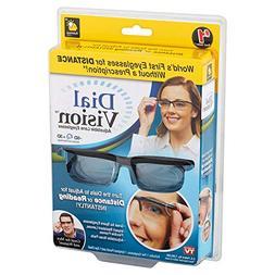 Dial Vision Flexible Frames Lenses Eye Glasses Reading Dista