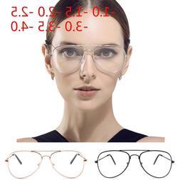 <font><b>Large</b></font> Fashion Retro Metal Clear Lens <fo
