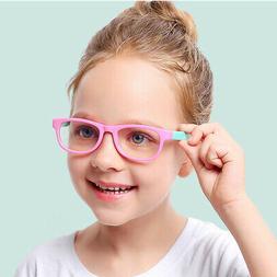 Frame Glasses Clear Lens Children Kids Frames Computer Anti-
